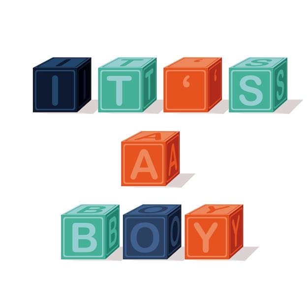 Baby toys Premium Vector