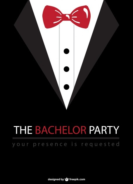 Bachelor party vector Free Vector
