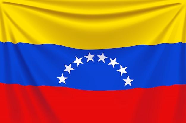 Вернуться флаг венесуэлы Premium векторы