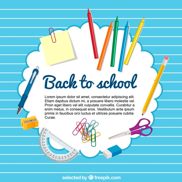 back to school templates - Isken kaptanband co