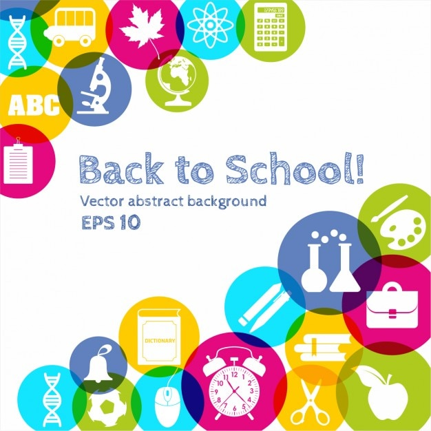 back to school vector - photo #41