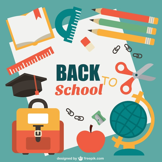 back to school vector - photo #3