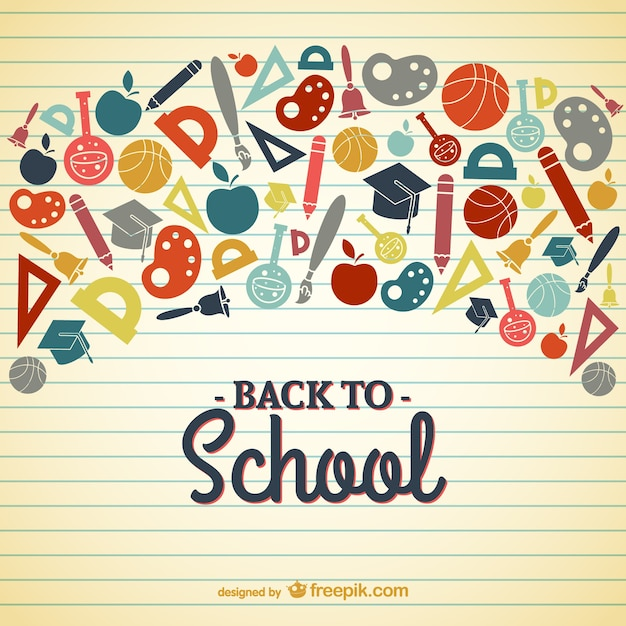 back to school vector - photo #2