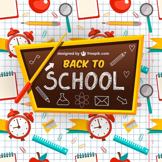 back to school vector - photo #10
