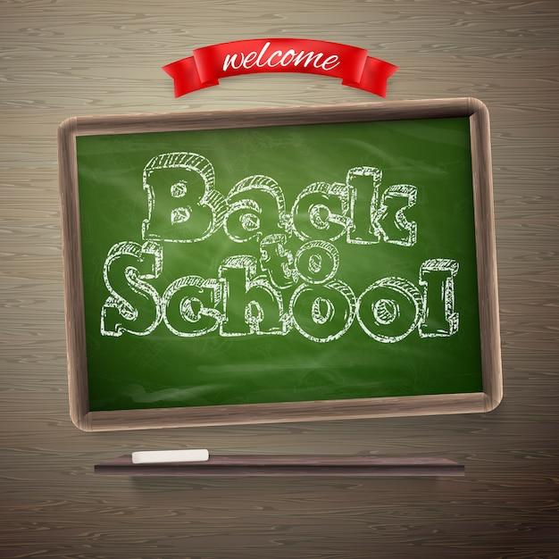 学校に戻る。 Premiumベクター