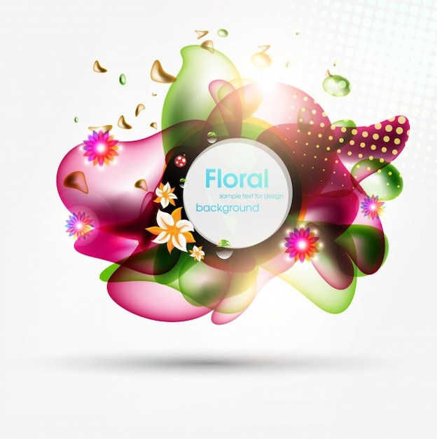 backdrop brochure twirl eps10 decoration Premium Vector