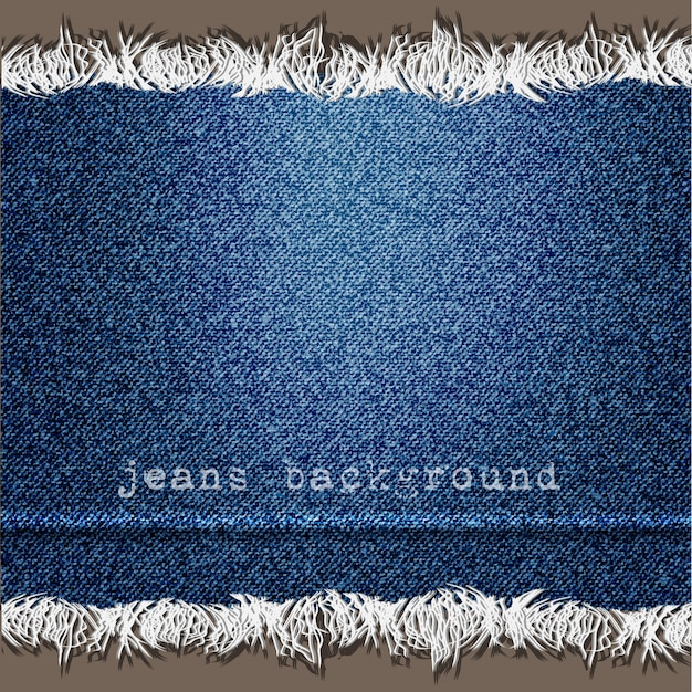 Background of denim texture Premium Vector