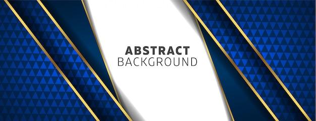 Шаблон дизайна фона с абстрактными формами Premium векторы