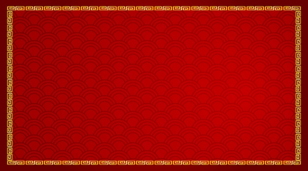 Background design with abstract pattern in red Free Vector