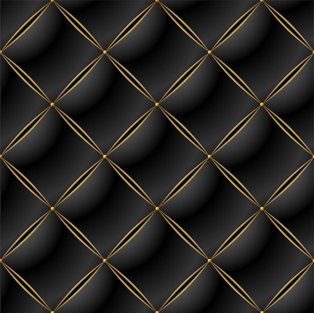 Background of elegant quilted pattern Premium Vector