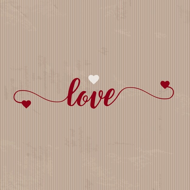 Background for valentine with paper texture Free Vector