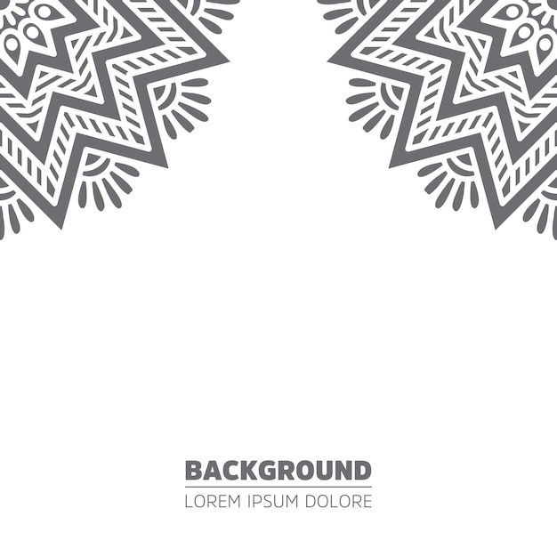 Background, indian design. Free Vector