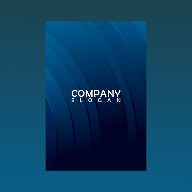 Background logo. greeting cards Premium Vector