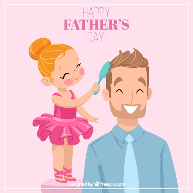 girl dating her father