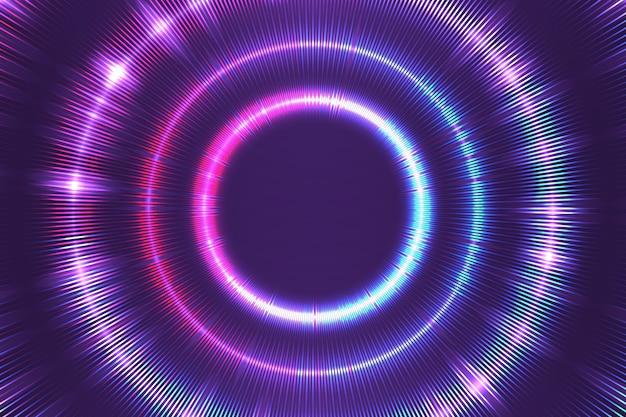 Фон неоновые огни Бесплатные векторы