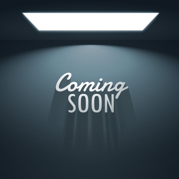 background of empty room with text of coming soon vector free