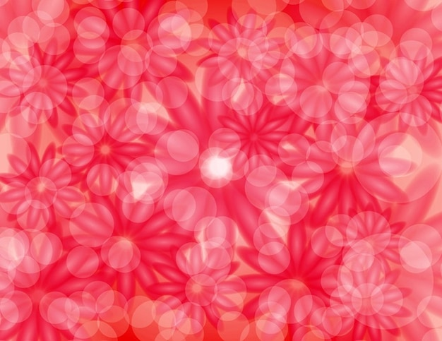 Background of flowers pink