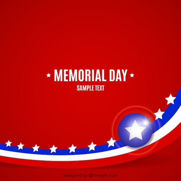 Background of memorial day