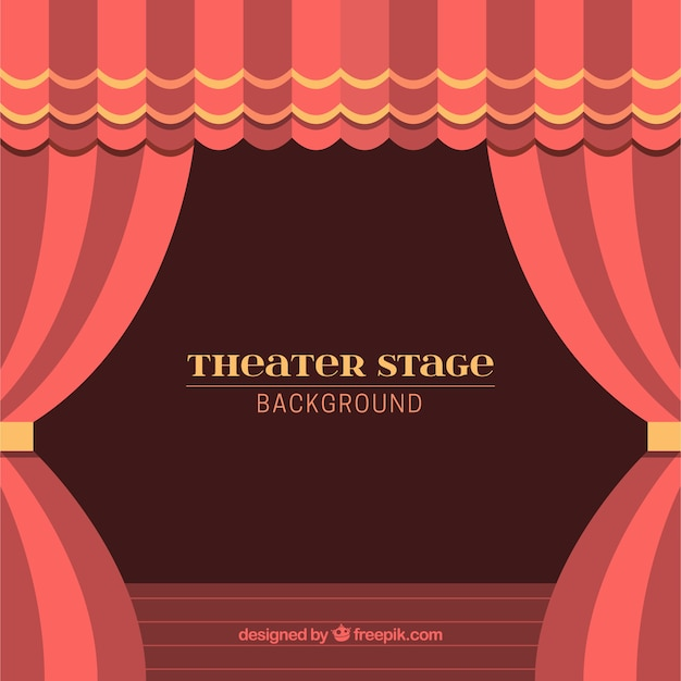 Curtains Ideas curtains background : Background of theater stage with curtains in red tones Vector ...