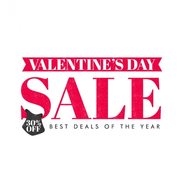 Background Of Valentineu0027s Day Sale Premium Vector