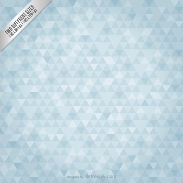 Background pattern with small triangles Free Vector