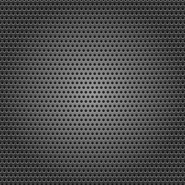 Background perforated sheet Premium Vector