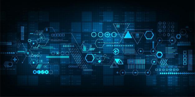 Background technology of communication. Vector | Premium ...