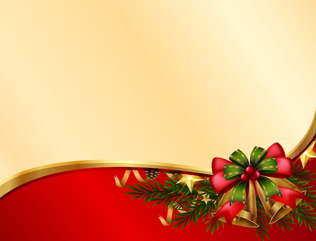 Bell Template For Christmas Decoration Custom Background Template With Christmas Bells Vector  Premium Download Decorating Design