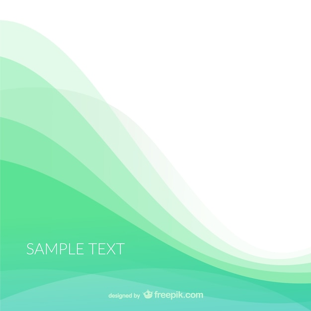 background template with waves vector free download