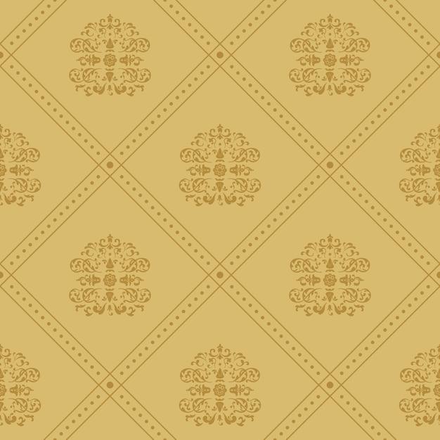 Sfondo vittoriano regale. modello in stile barocco vintage, Vettore gratuito