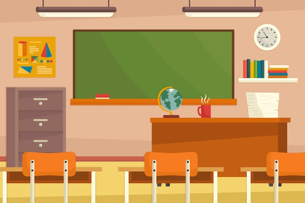 Background for video conferencing Premium Vector