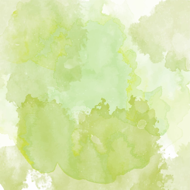 Background with a green watercolor texture Vector | Free ...