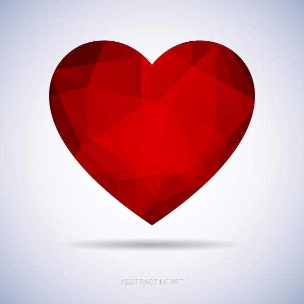 background with a heart design vector free download