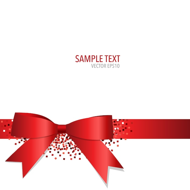 background with a ribbon design vector free download