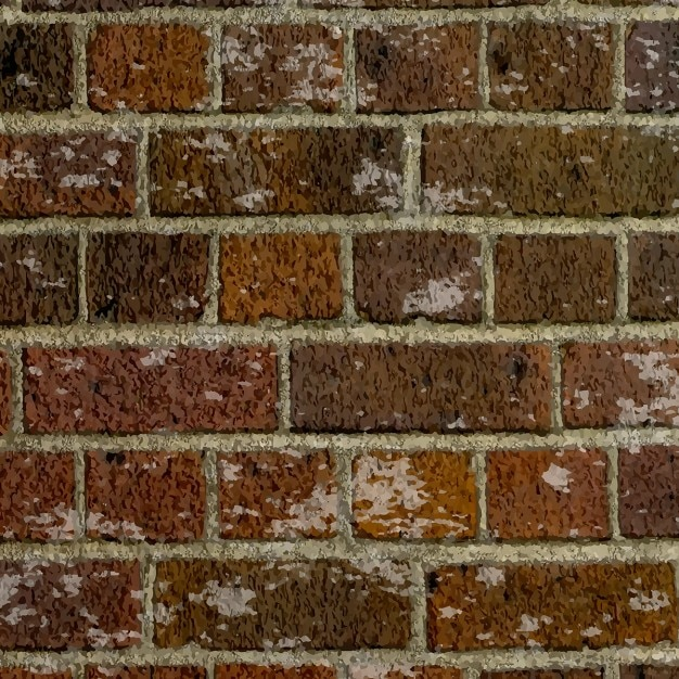 Background with brick wall texture