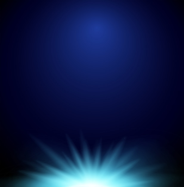 Background with bright light Free Vector