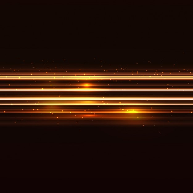 background with golden and shiny lines vector free download