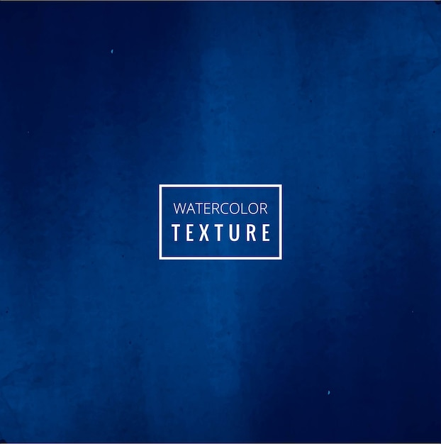 Background with intense blue watercolors Free Vector