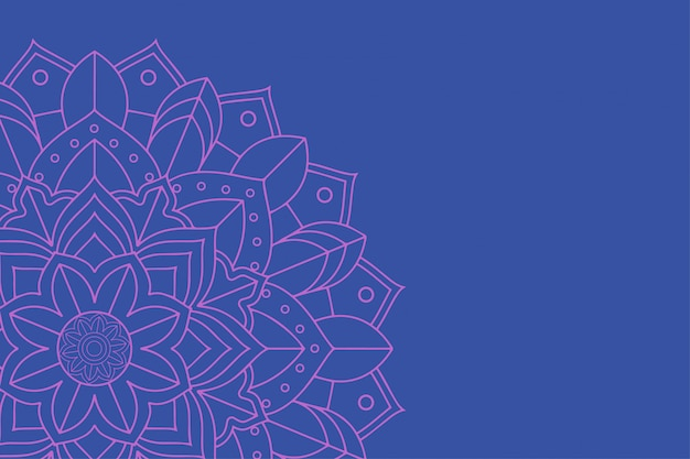 Background with mandala designs Free Vector