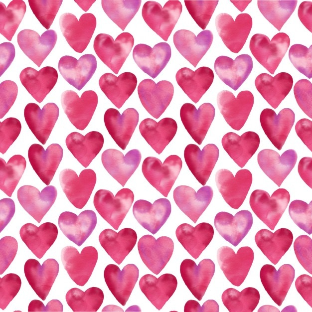 pink hearts wallpaper images free download