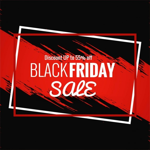 Glasses Frame Black Friday : Background with two frames and red paint for black friday ...