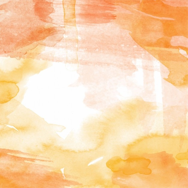 Background With Warm Watercolor Texture Vector