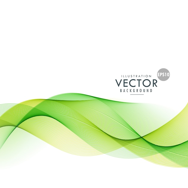 wavy green background vector - photo #8