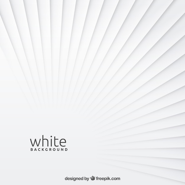 Background with white shapes Free Vector