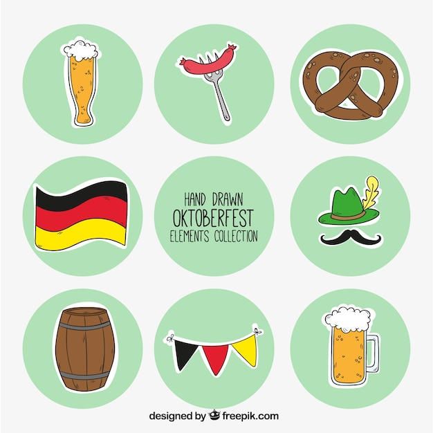 Badges for oktoberfest Vector | Free Download