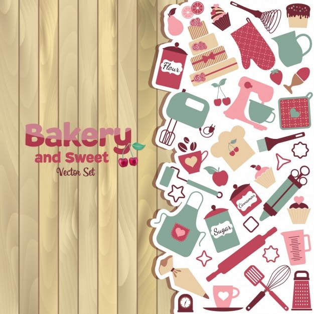 Bakery and sweet background vector free download bakery and sweet background free vector voltagebd Choice Image