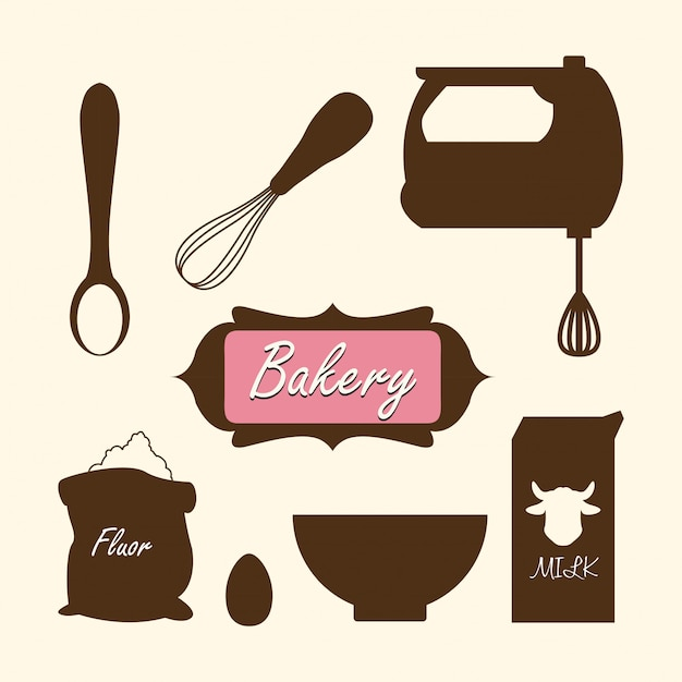 Bakery design Premium Vector