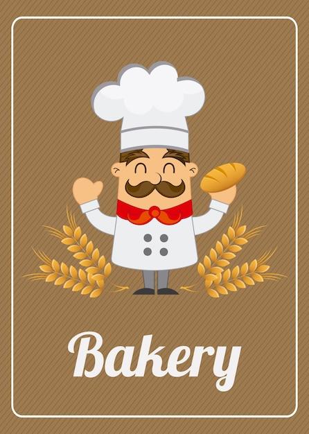 Bakery label Premium Vector