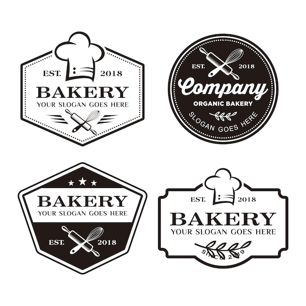 Bakery logo, baking logo Premium Vector