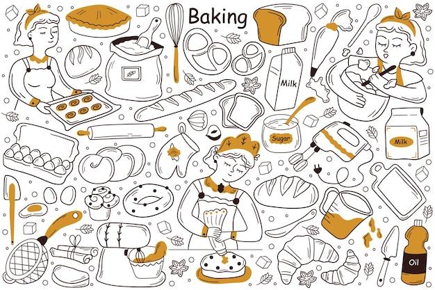 Baking doodle set